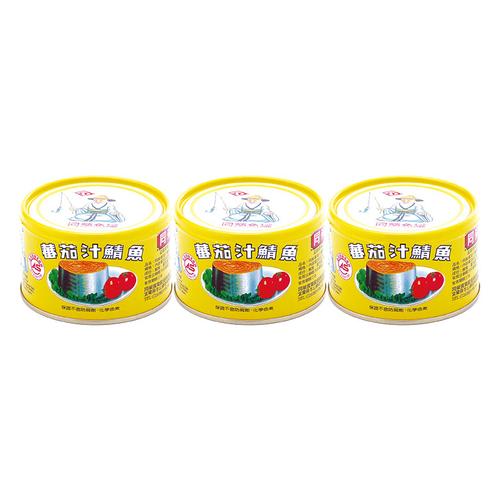 《同榮》鯖魚-平二黃罐(230gx3罐/組)