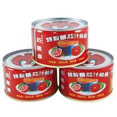 《紅鷹牌》茄汁鯖魚平二紅罐(220g*3罐/組)