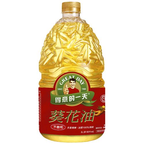 得意的一天 葵花油(2L/瓶)