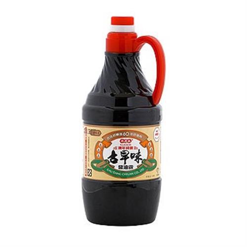 高慶泉 陳年純釀-古早味醬油露(1.6L)
