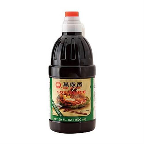 萬家香 純釀造陳年醬油(1500ml)