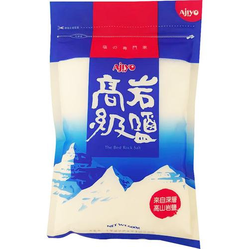 《AJIYO》高級岩鹽(600g/包)