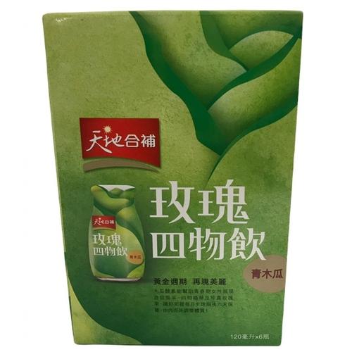 桂格 天地合補青木瓜四物飲(120ml*6瓶/盒)