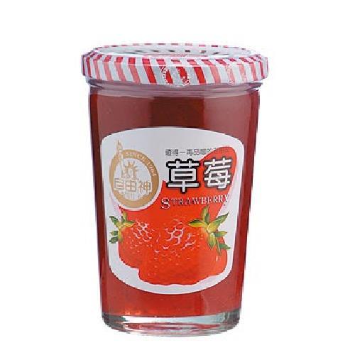 《自由神》草莓果醬(450公克/罐)