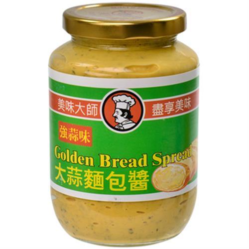 美味大師 大蒜麵包醬-強味(470公克/瓶)
