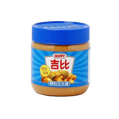 吉比 花生醬-顆粒(12盎司/罐)
