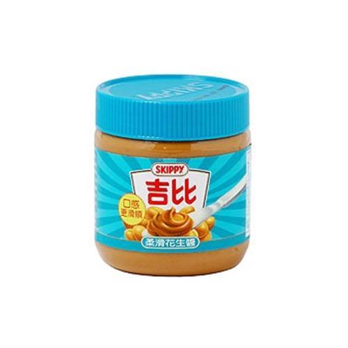 吉比 花生醬-柔滑(12盎司/罐)