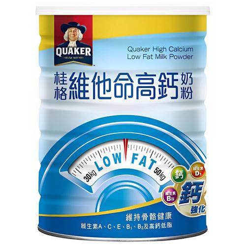 桂格 維他命高鈣奶粉(1650g/罐)