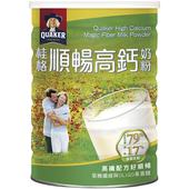 《桂格》高鈣順暢奶粉-高纖配方1500g/罐