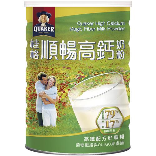 桂格 高鈣順暢奶粉-高纖配方(1500g/罐)
