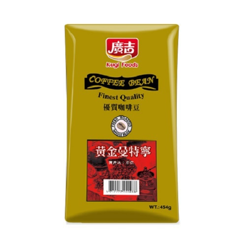《廣吉》黃金曼特寧咖啡豆(1磅/袋)