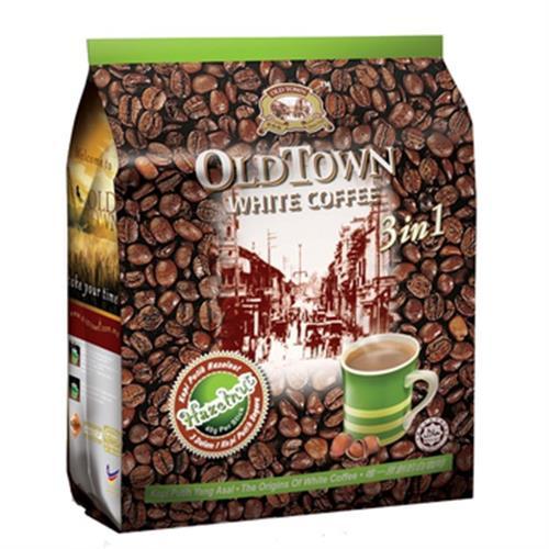 舊街場 3合1榛果白咖啡(40gx15包/袋)
