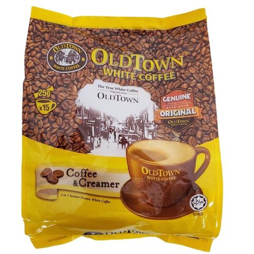 舊街場 無糖白咖啡(二合一)(25gx15包/袋)