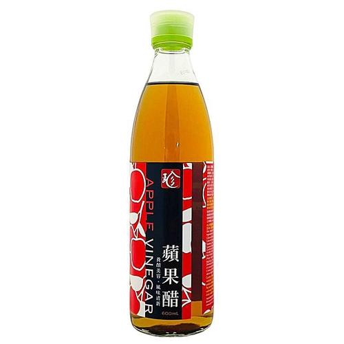 百家珍 益壽醋-蘋果(600cc/瓶)