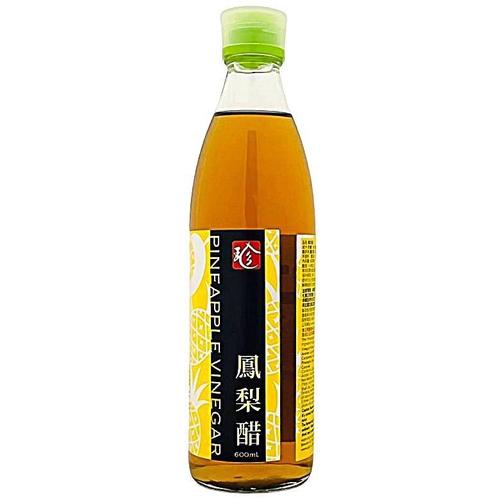 百家珍 鳳梨醋(600毫升/瓶)