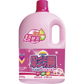 《妙管家》超雙氧彩漂-玫瑰花香(3000gm/瓶)