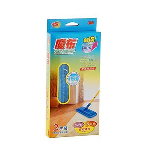 《3M》魔布強效拖把乾濕兩用布補充包(1盒)