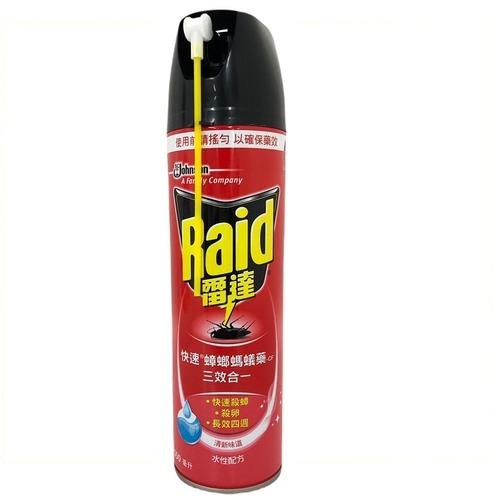 《Raid雷達》快速蟑螂螞蟻藥-清新配方(550ml/罐)