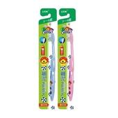 《獅王》細絲特磨牙刷兒童3-6歲(2支/組)