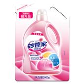 《妙管家》玫瑰花香冷洗精-補充包(2000cc/包)