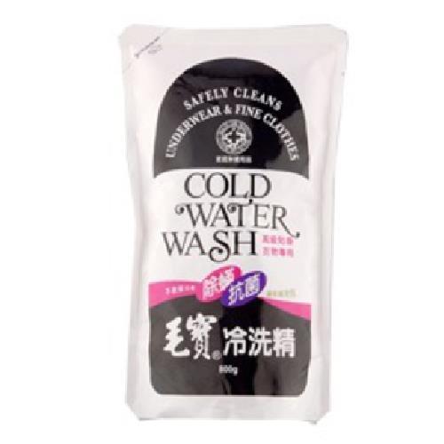 毛寶 除蹣抗菌冷洗精補充包(800g/包)