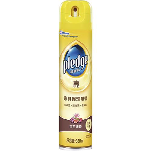 碧麗珠 家俱清潔劑-百花清香(330ml/瓶)