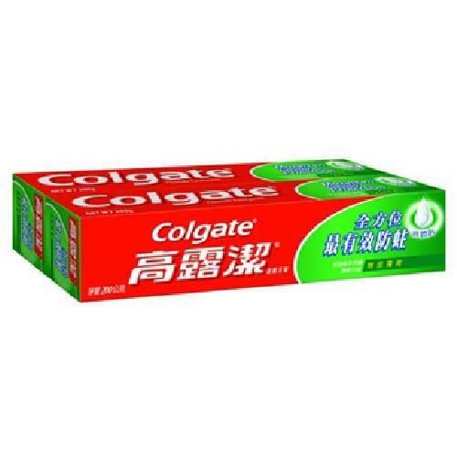《高露潔》含氟特涼薄荷牙膏(200g*2條)