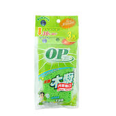 《OP》木漿菜瓜布 3入(11.5x7.5x1.5cm)