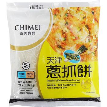 奇美 天津蔥抓餅(600g/5片)