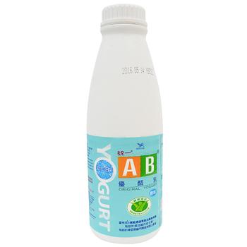 統一 AB原味優酪乳(902ml/瓶)
