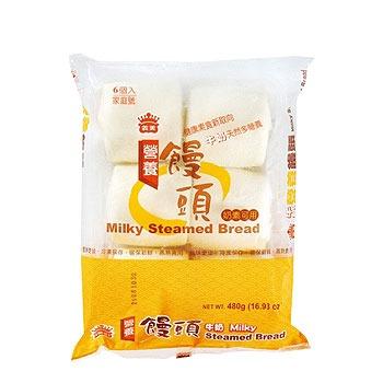 義美 營養饅頭-牛奶(80g*6粒)