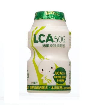 味全 LCA506發酵乳原味(100mlx10瓶/組)