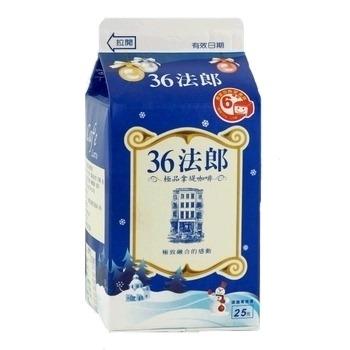 味全 36法郎-極品拿鐵咖啡(375ml/盒)
