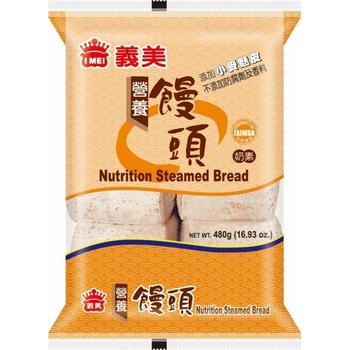 義美 營養饅頭-全麥(80g*6粒/包)