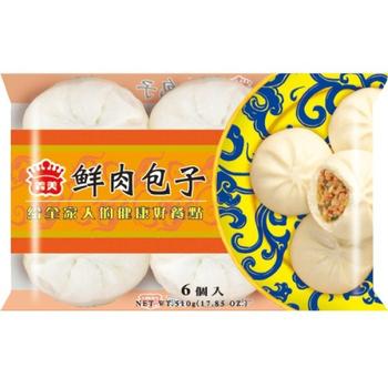 義美 鮮肉包子(85g*6粒/包)