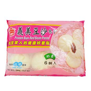 義美 豆沙包子(60公克*6粒/包)