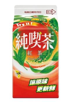 統一 純喫茶-紅茶(481ml/瓶)