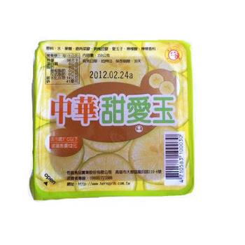 中華 甜愛玉(150gx4盒/組)