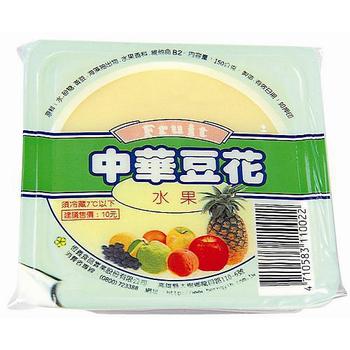 中華 水果豆花(150g*4盒/組)