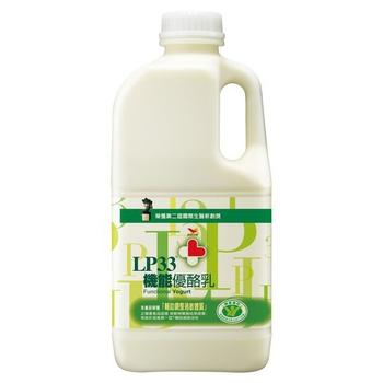 統一 LP33機能優酪乳(1858ml/瓶)