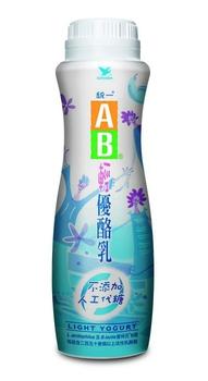 統一 AB輕優酪乳(900ml/瓶)