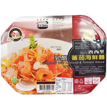 金品 西西里起士蕃茄海鮮麵(410g/盒)