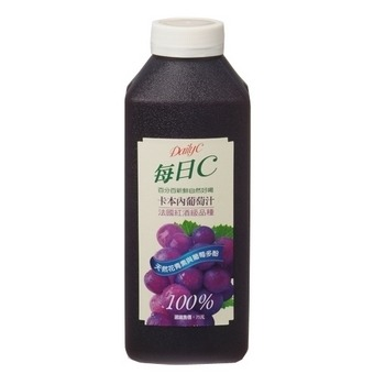 味全 每日C葡萄原汁(900ml)