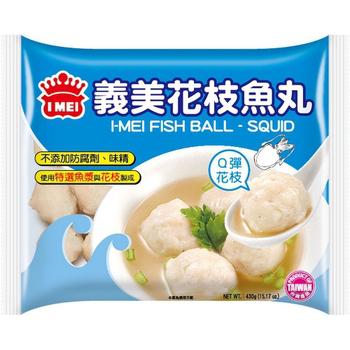 義美 花枝魚丸(430g/包)