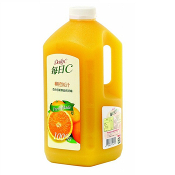 味全 每日C柳橙原汁(2300ml/瓶)