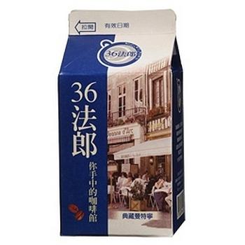 味全 36法郎典藏曼特寧咖啡(375ml)