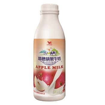 統一 瑞穗蘋果調味乳(930ml/瓶)