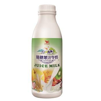 統一 瑞穗果汁調味乳(930ml/瓶)