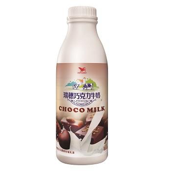 統一 瑞穗巧克力調味乳(930ml/瓶)