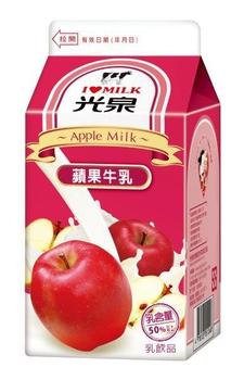 光泉 蘋果調味乳(400ml)